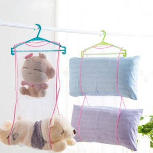 Clothes Rack Drying Hanging Dryer Mesh Laundry Towel Folding