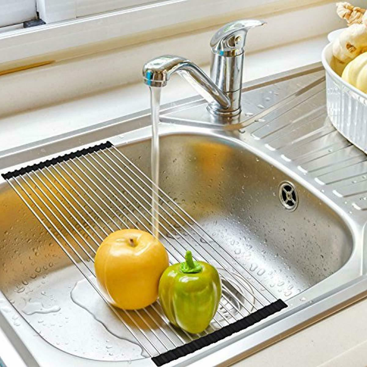Roll-Up Dish over Sink Large x1/2