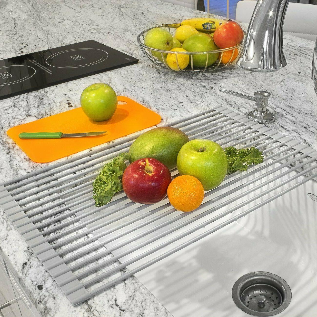 Sorbus Roll-Up Rack Drying Mat