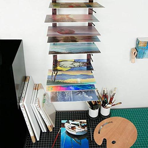 Creative Drying Artist Prints, Ladder Storage Rack-