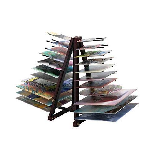 Creative Mark Prints, Ladder Rack- Mahogany