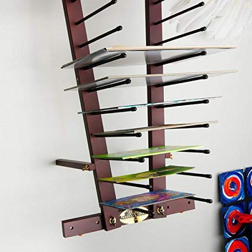 Creative Mark Rue Art Drying Artist Canvas Prints, Ladder Rack- Finish