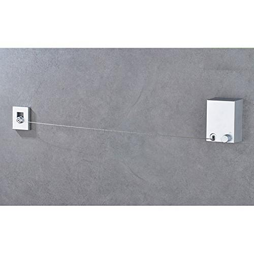 single line retractable 304 stainless