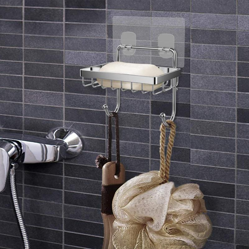 ODesign Soap Dish Holder Hooks Shower Kitchen