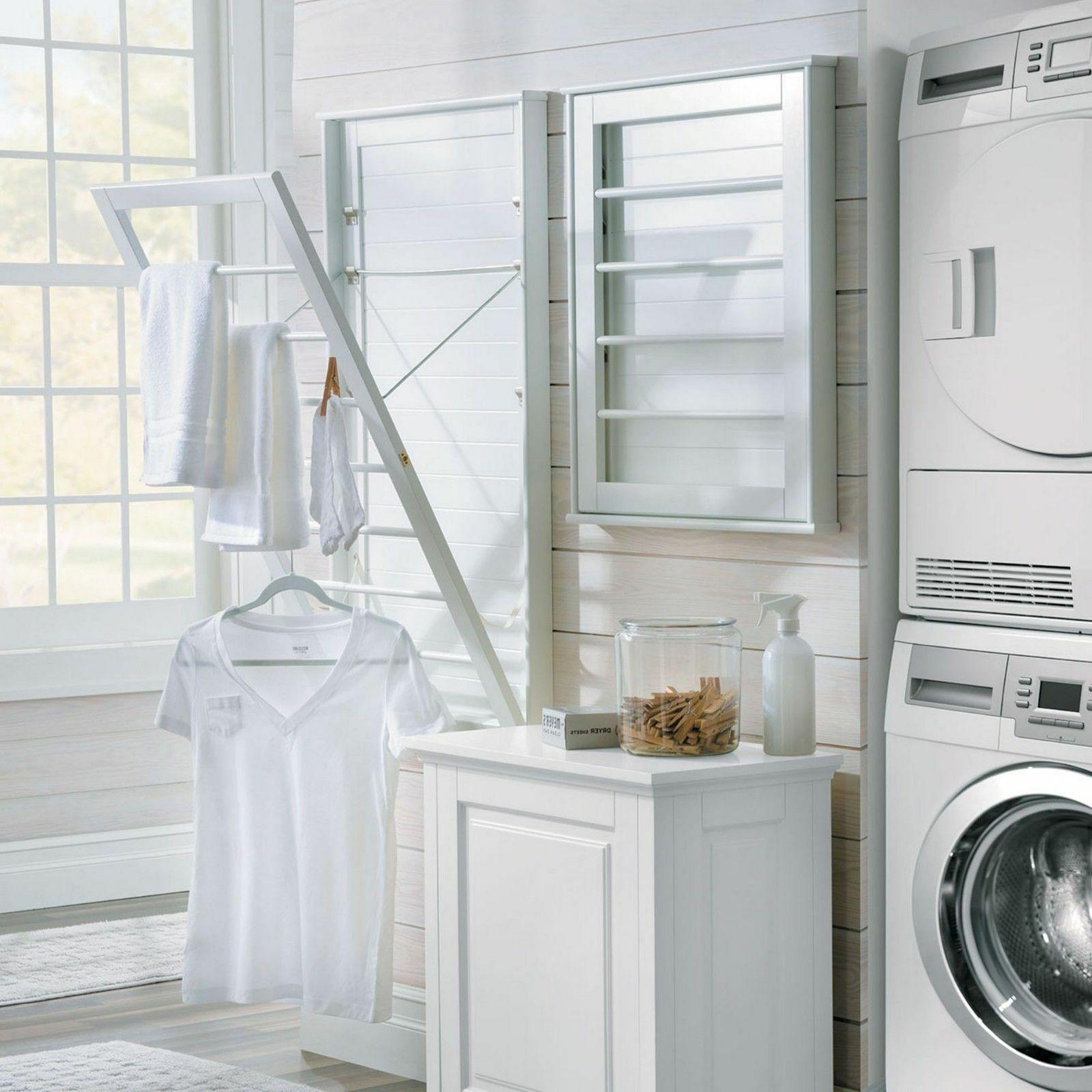 space saver clothes line large laundry folding
