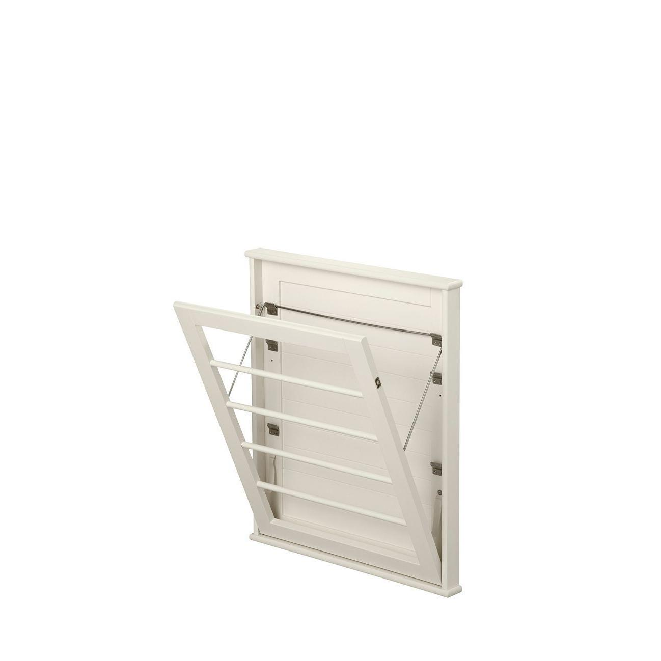 space saving wall mount drying rack small