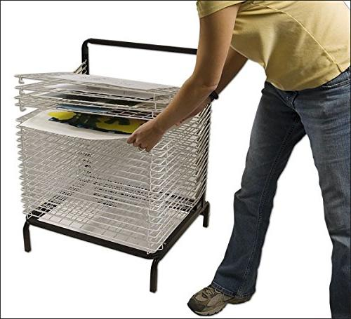 Stack-N-Dry Spring Drying Rack