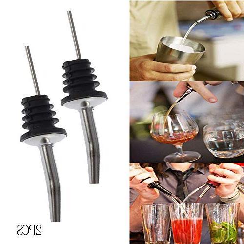 stainless steel classic bottle pourers rustproof metal