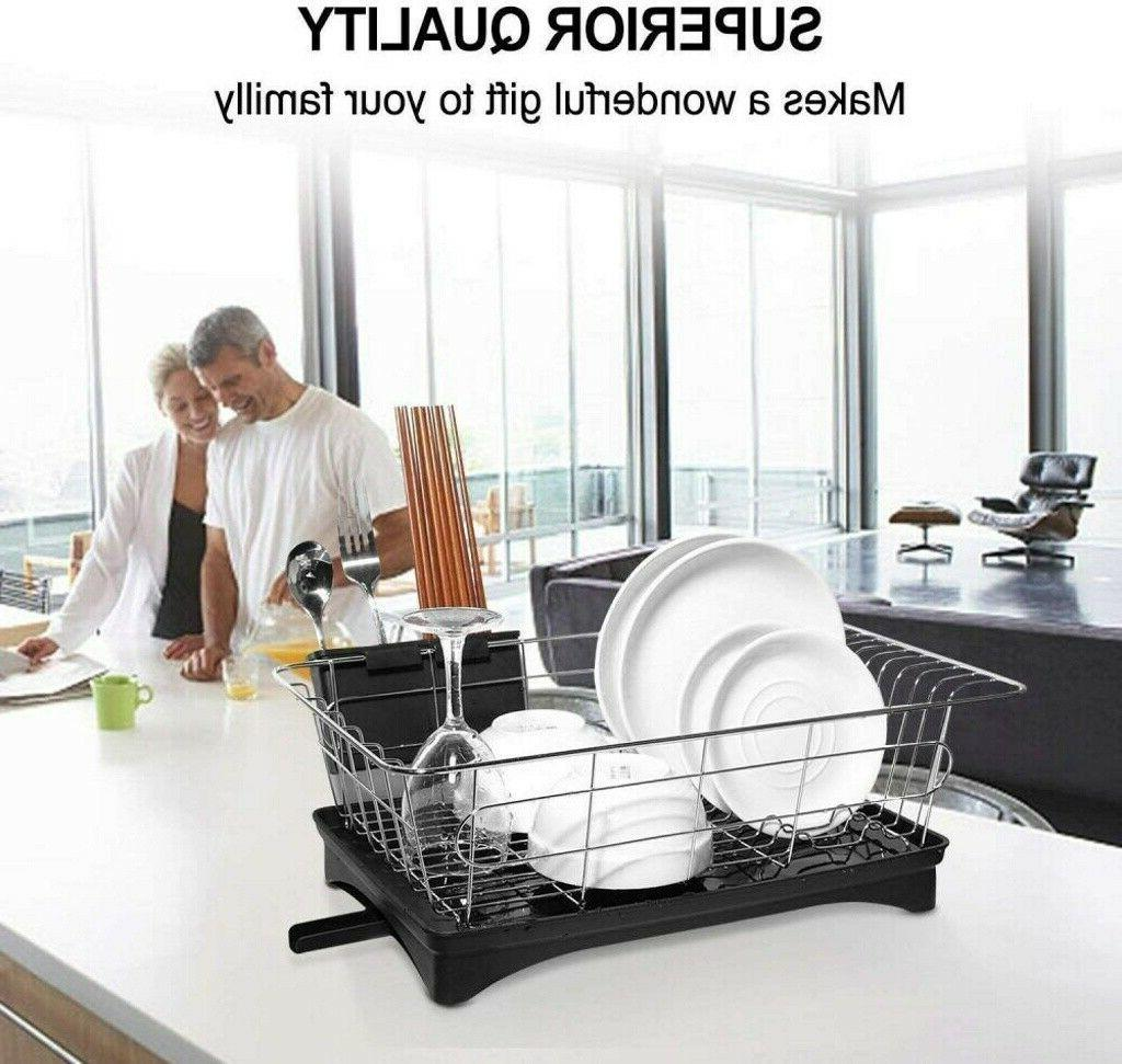 Stainless Steel Drying Rack Storage Kitchen Space