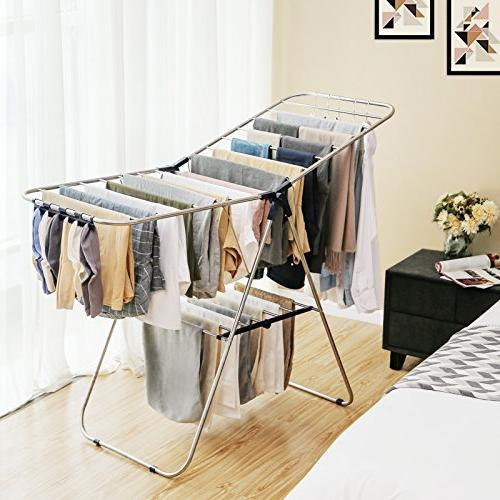 SONGMICS Clothes Drying Bonus Clips, for Storage, Rack