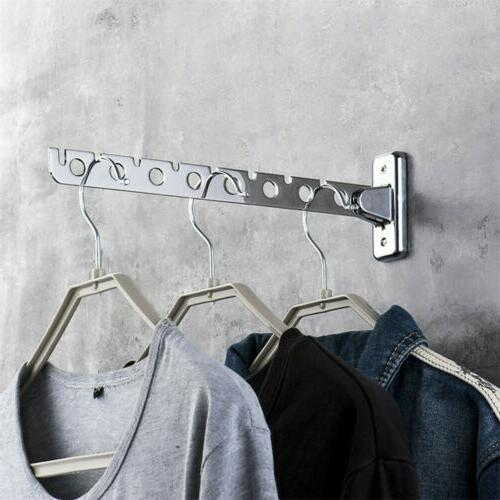 Stainless Folding Wall Mount Drying Rack