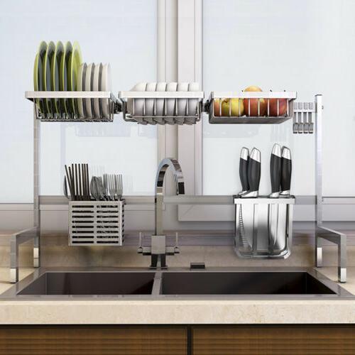 Stainless Kitchen Rack Drain Holders Rack