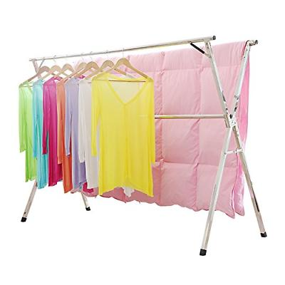 stainless steel laundry drying rack