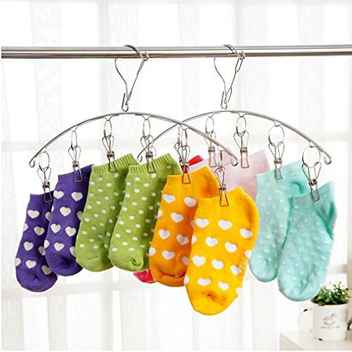 3 Laundry Clothes Hanger For Socks,Drying Towels, Diapers,