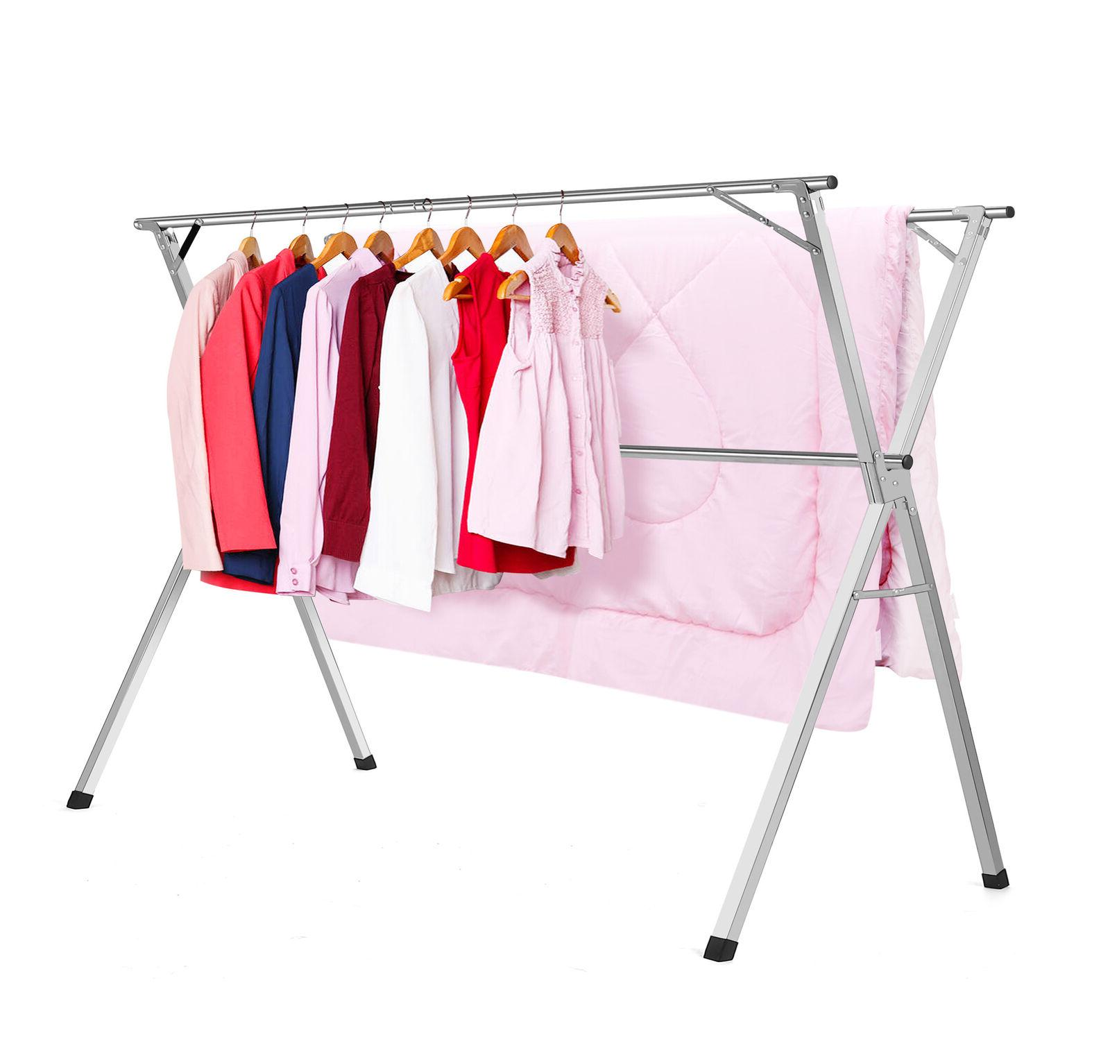 Stainless Steel Drying Rack Folding Clothes Rack