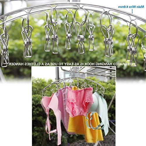 2 Laundry Drying 4.0 mm Save Hanger 10 Drying Clothes,Underwear,