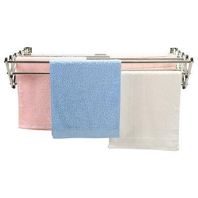 Stainless Wall Mounted Clothes Drying Rack Laundry Hanger