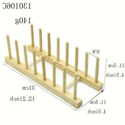 Storage Drain Plate Drying Rack for