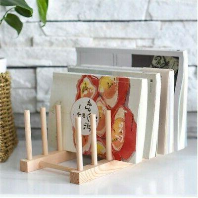 Storage Wooden Drain Dish Drying for