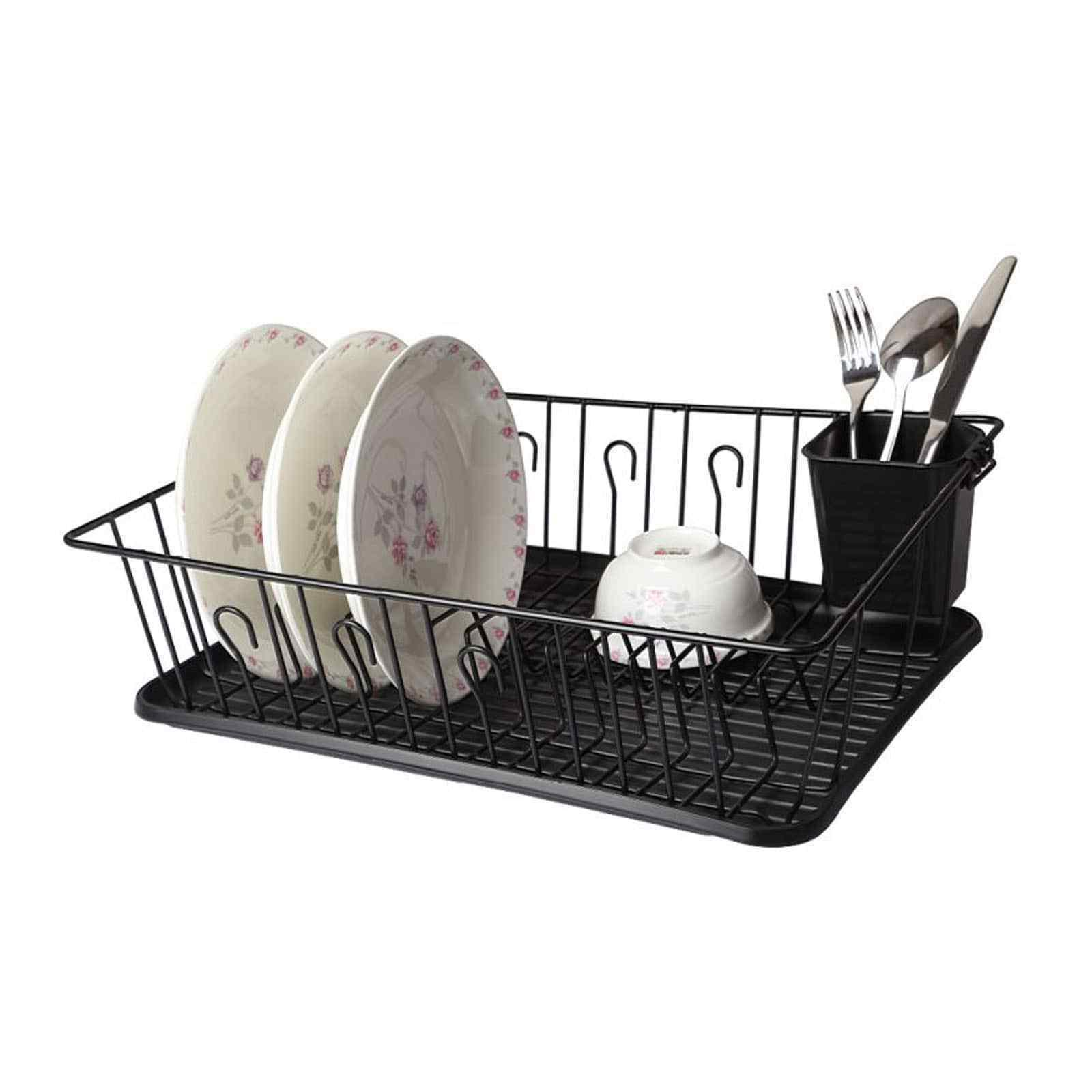 Stylish Sturdy Stainless Steel Wire Medium Dish Drainer Dryi