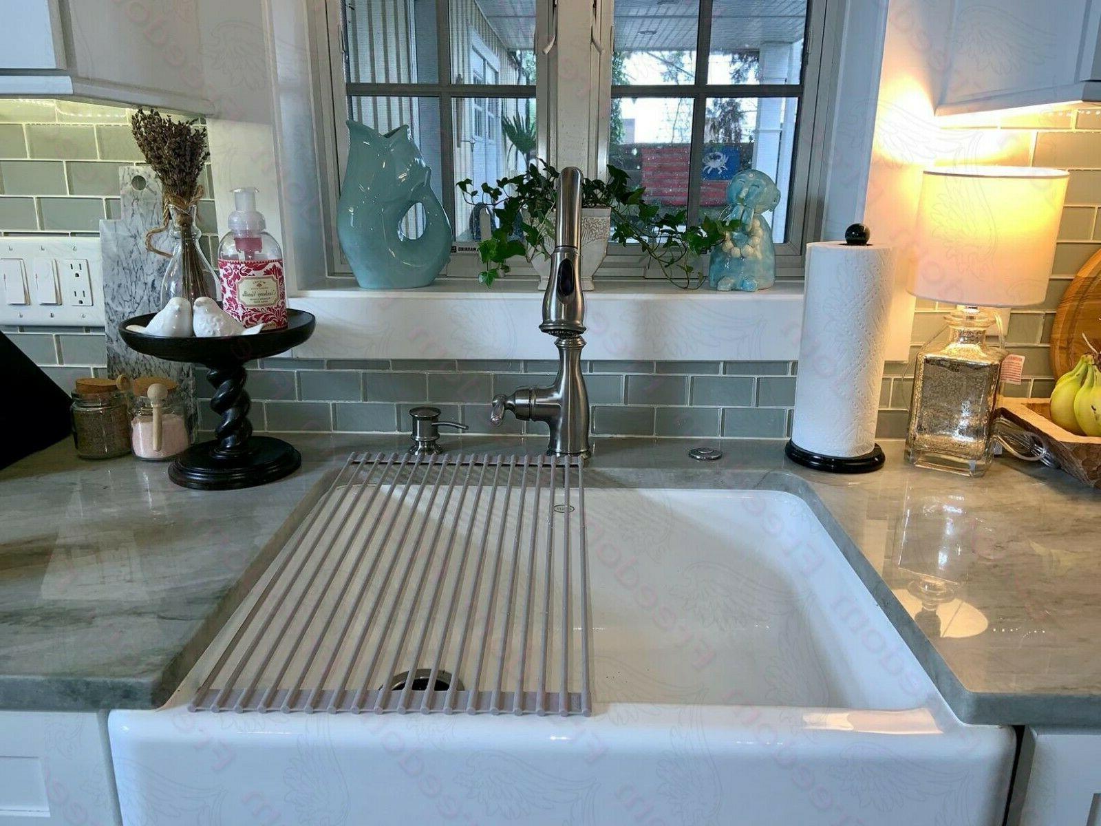 Surpahs Over Sink Multipurpose Dish Drying Rack