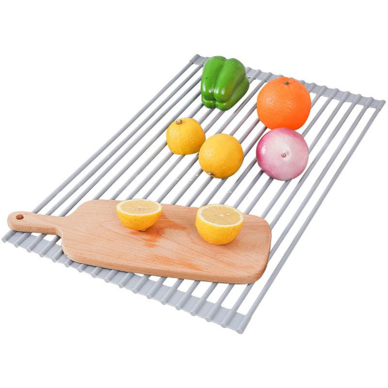 Surpahs Multipurpose Roll-Up Rack Grey
