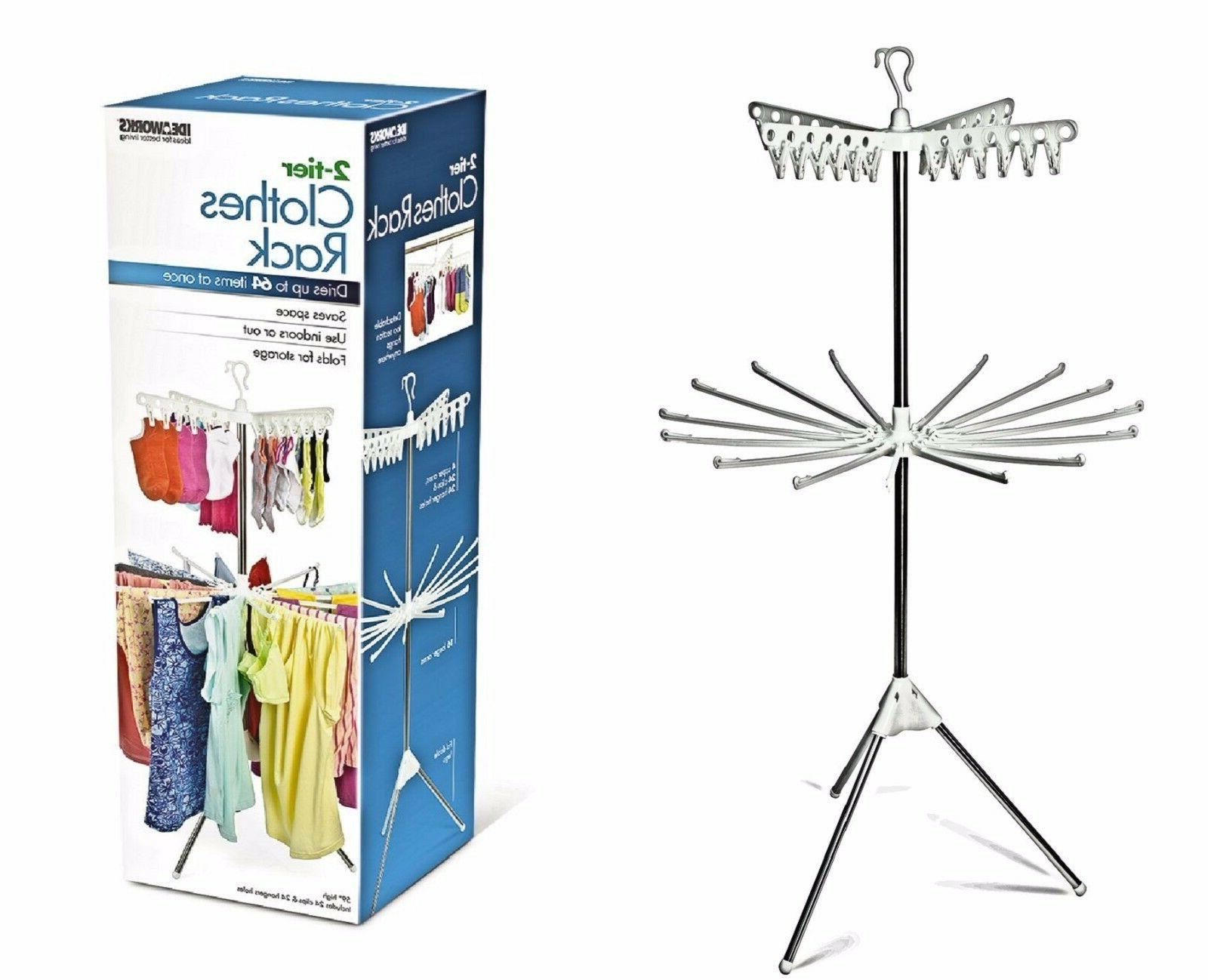 two tier drying rack