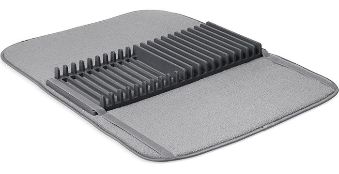 udry dish drying rack and microfiber dish