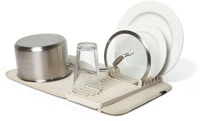 udry mini dish rack and drying mat