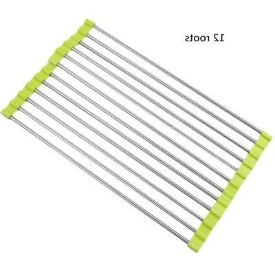 Kitchen Dish Drying Rack Foldable