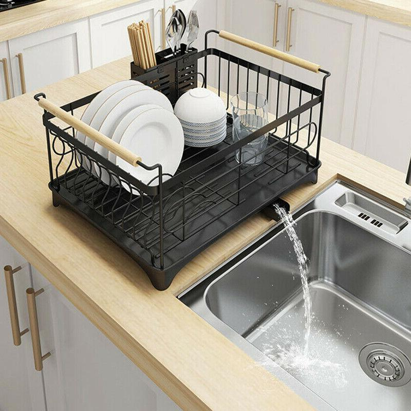 New Stainless Steel Shelf Dish Rack Storage Rack Stand