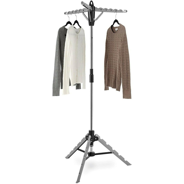 Versatile Tripod Garment Drying Rack Ironing