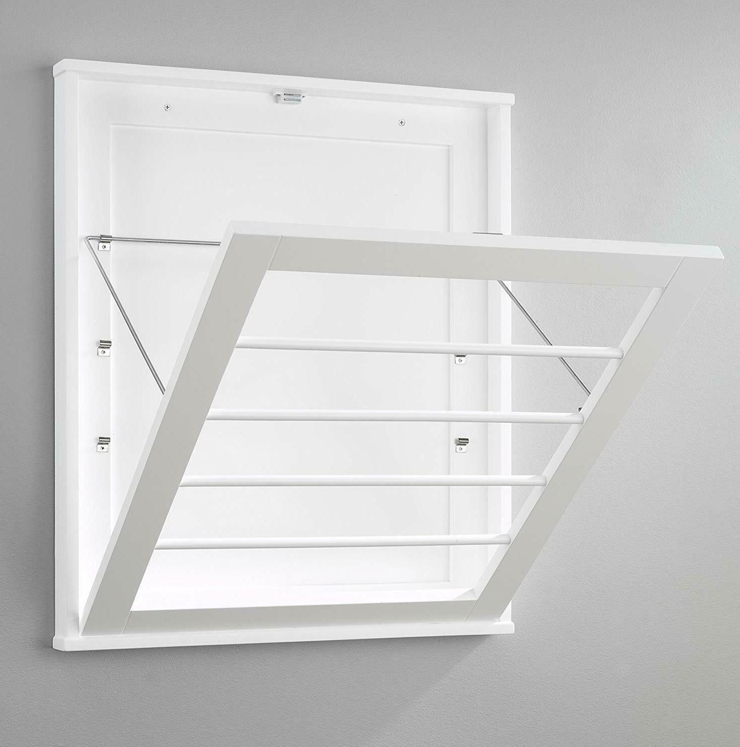 wall mount drying rack space saver clothes