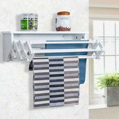 Wall-Mounted Rack Extension Storage Shelf