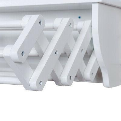 Wall-Mounted Rack Extension Towel Rack Storage