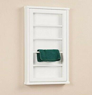 Wall Mounted Clothes Rack For Laundry - - White
