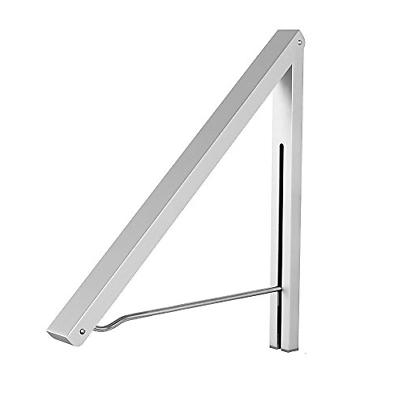 wall mounted drying rack clothes hanger folding