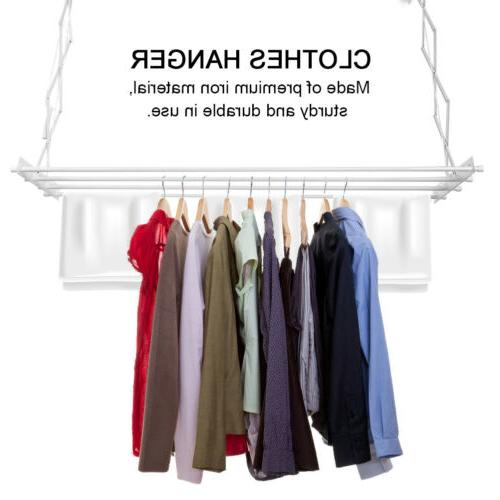 72x19x26'' Drying Laundry Rack Clothes Hanger Indoor