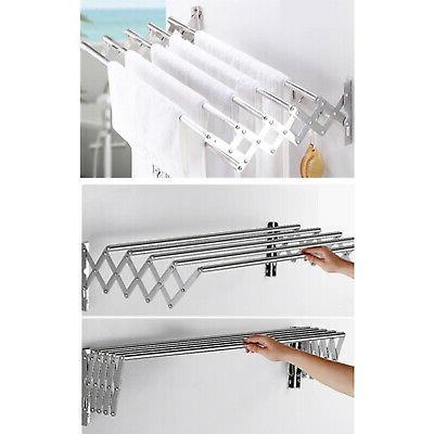 Retractable Wall-mounted Rack Rack Room