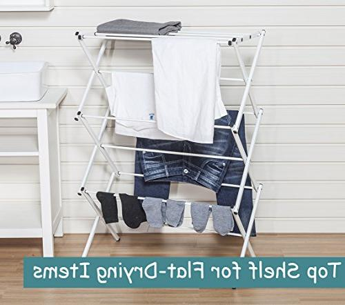 Clothes Inch Laundry with Coating, White