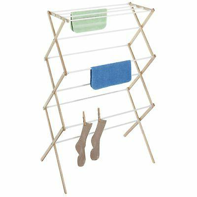 Whitmor Mfg. Natural Wood Clothes Drying Rack 6026-2415