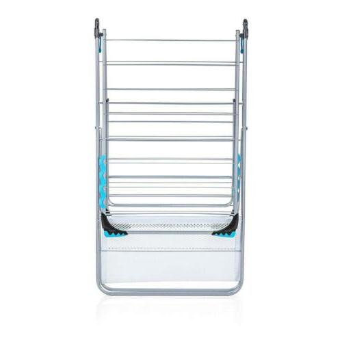 Minky Wing Rack Silver, drying space 78ft, 33 lbs Drying capacity