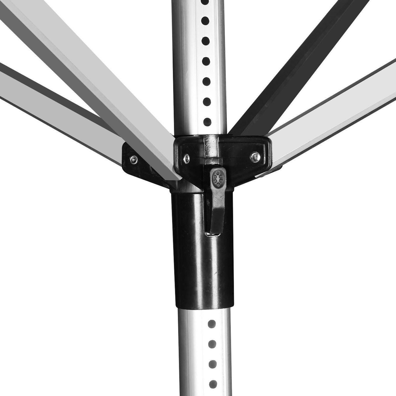XL 50M 4-Arm Aluminum Retractable Umbrella Clothesline
