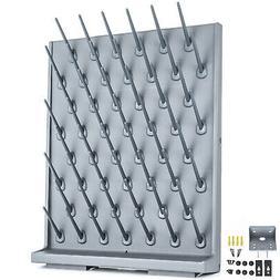 Lab Drying Rack Wall Mount PP Draining Rack Medical Glasswar