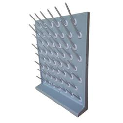 Lab Supply Drying Rack 52 Pegs Cleaning Frame In Gray Wall M
