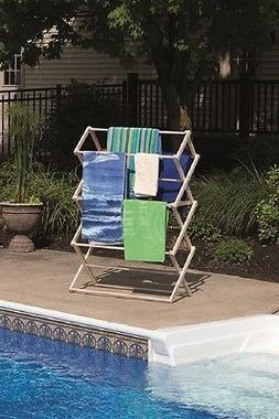 LARGE FOLDING DRYING RACK AMISH HANDMADE - 40W x 60H x 19½D