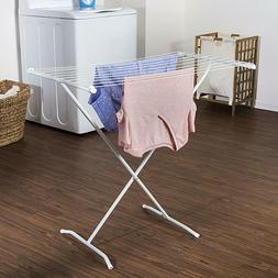 Clothes Drying Rack Laundry Folding Hanger Dryer Storage Por