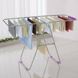 laundry clothes storage drying rack portable folding
