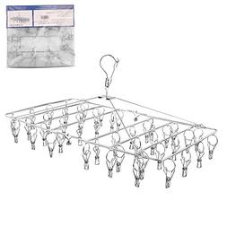 Rosefray Laundry Clothesline Hanging Rack for Drying, Sturdy