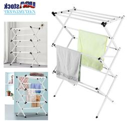 Laundry Dryer Storage Clothes Drying Rack Stand Folding Hang